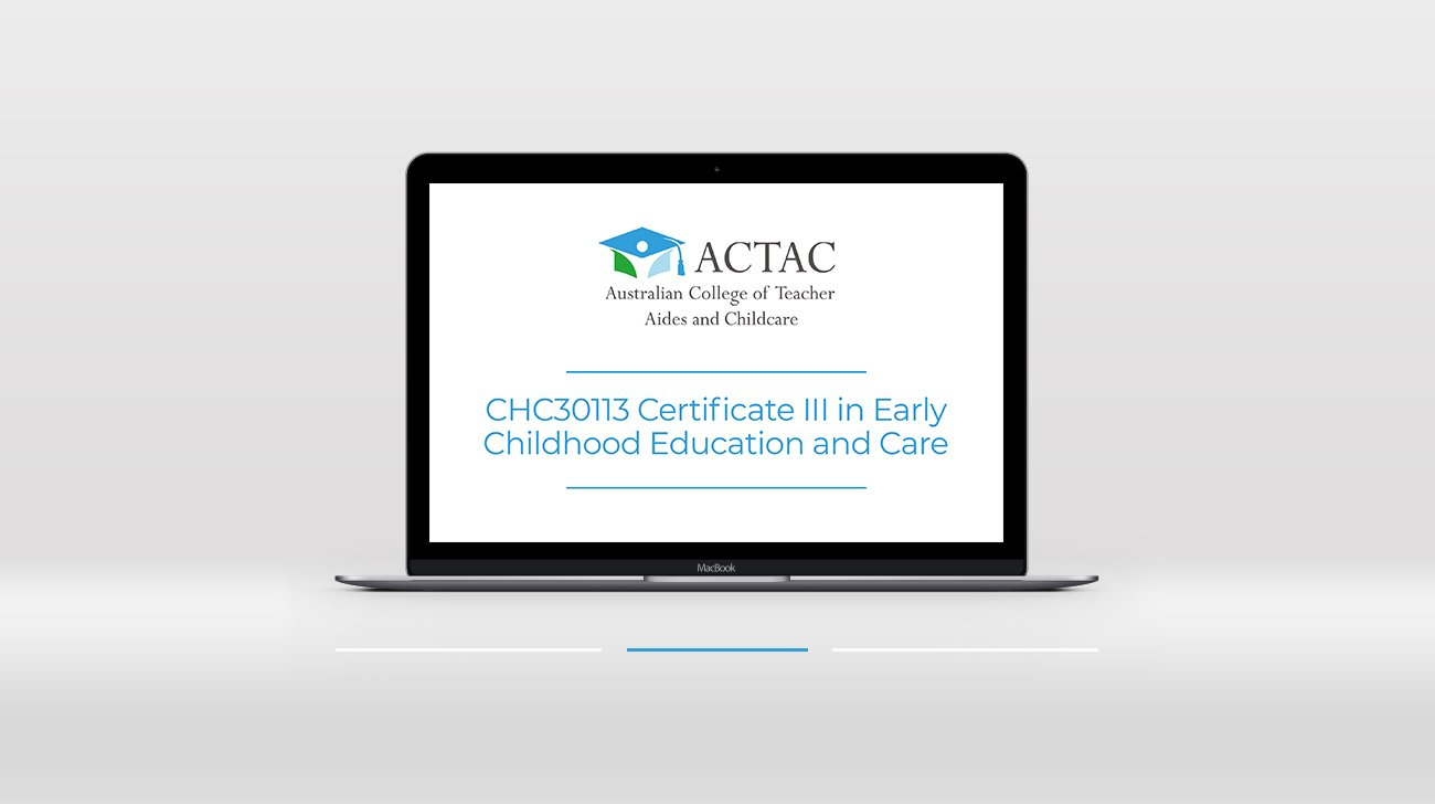 999 Chc30113 Certificate Iii In Early Childhood Education And Care