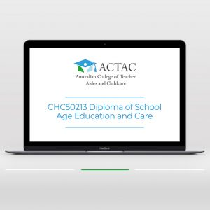 CHC50213 Diploma in School Age Education and Care - OSHC courses online